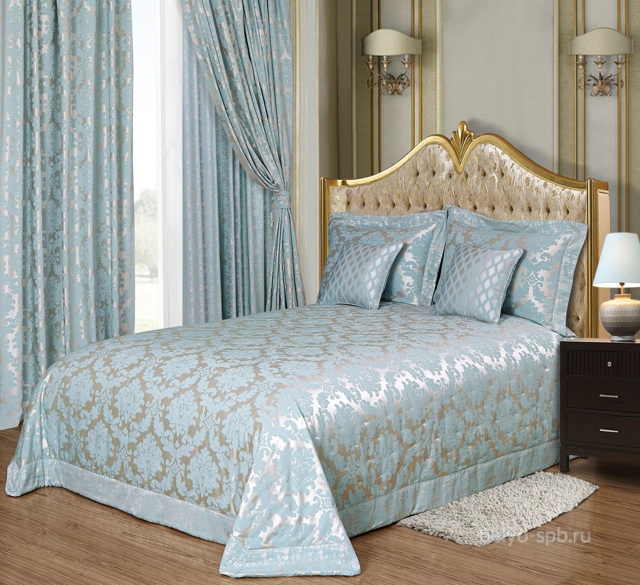 комплект для спальни арт 38 покрывало наволочки шторы купить в